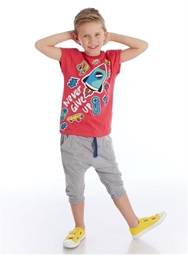 Mushi Oyun Zamanı Erkek Çocuk Kapri Takım Renkli